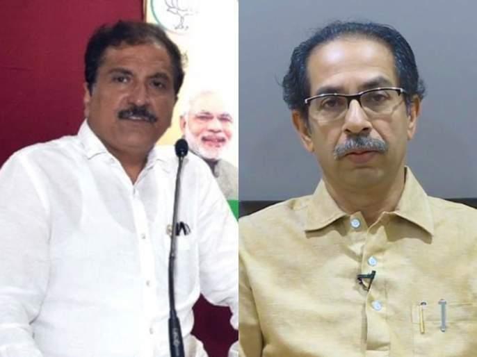 bjp leader atul bhatkhalkar slams shiv sena on corona vaccination | रांगेतील घुसखोरी शिवसेनेची आपमतलबी राजकीय संस्कृती दाखवणारी; भाजप नेत्याची टीका