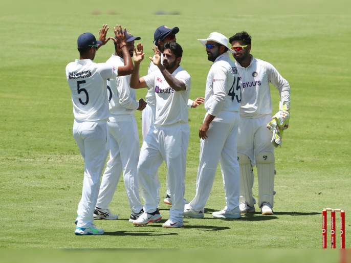 India vs Australia, 4th Test : Australia all out for 369, Natarajan, Shardul & Sunder take 3 wkt each   India vs Australia, 4th Test : नवे आहेत, पण छावे आहेत!; टीम इंडियानं गुंडाळला ऑस्ट्रेलियाचा पहिला डाव