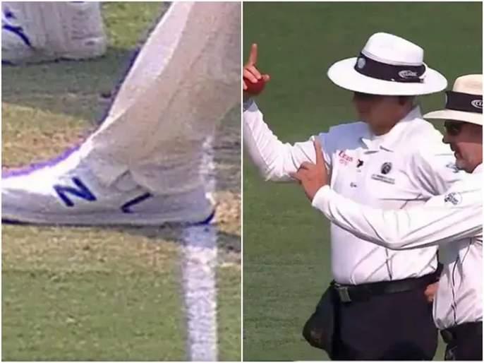 Aus vs Pak : Out or not? Controversial no-ball call leads to Mohammad Rizwan's dismissal on Day 1 of Brisbane Test | Aus vs Pak : Out or not? पंचांनी पाकिस्तानच्या मोहम्मद रिझवानची विकेट ढापली? Video