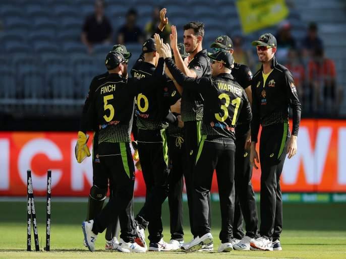 AUSvPAK : Pakistan finish their 20 overs on 8-106 in 3rd T20I against Australia | AUSvPAK : मिचेल स्टार्कचा भेदक मारा; पाकिस्तानला करता आल्या केवळ 106 धावा