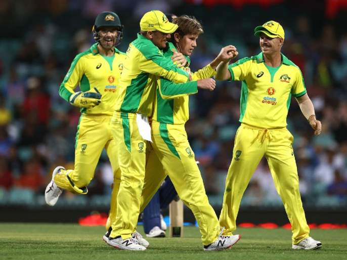 India vs Australia: Australia won by 66 runs, take 1-0 lead in ODI series | India vs Australia : ऑस्ट्रेलियाचा दणदणीत विजय; आघाडीच्या शिलेदारांच्या अपयशानं टीम इंडियाची नाचक्की