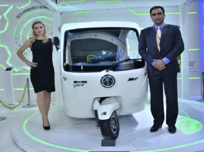 Auto Expo 2018: New options for 'Greaves' three wheelers and small four-wheelers   Auto Expo 2018 : 'ग्रीव्ह्ज' तीनचाकी व छोट्या चारचाकी वाहनांसाठी ठरणार नवा पर्याय