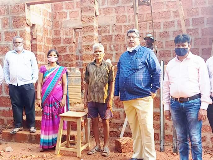 Housing scheme houses to be handed over for Holi: Sanjay Ghogle | होळीच्या सणाला आवास योजनेतील घरांचा ताबा देणार:संजय घोगळे