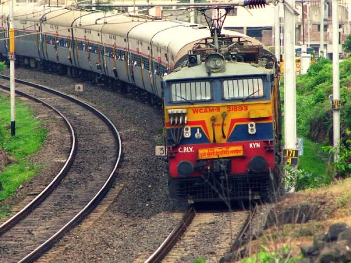 Suicide of a woman poisoning herself in front of a train | रेल्वेसमोर स्वत:ला झोकून देत महिलेची आत्महत्या