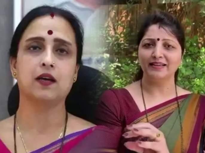 "Remdesivir: BJP Chitra Wagh Reaction on NCP Rupali Chakankar Statement on Devendra Fadnavis | ""उठले की निघाले आरोप करायला, म्हणे फडणवीसांना अटक करा; अटक मटक चवळी चटक वाटलं की काय?"""