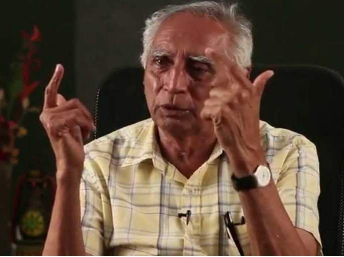 Do not vote for Girish Bapat : Baba Adhav | गरीबांच्या ताेंडचा घास हिसकावणाऱ्या गिरीश बापट यांना मतदान करु नका : बाबा आढाव
