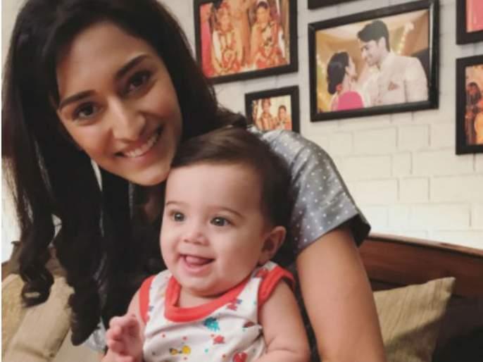 Erica Fernandes wishes her Kuch Rang Pyar Ke Aise Bhi's reel son a happy birthday with an adorable photo | एरिका फर्नांडिसने तिच्या ऑनस्क्रीन मुलाच्या वाढदिवसाला अशाप्रकारे दिल्या शुभेच्छा