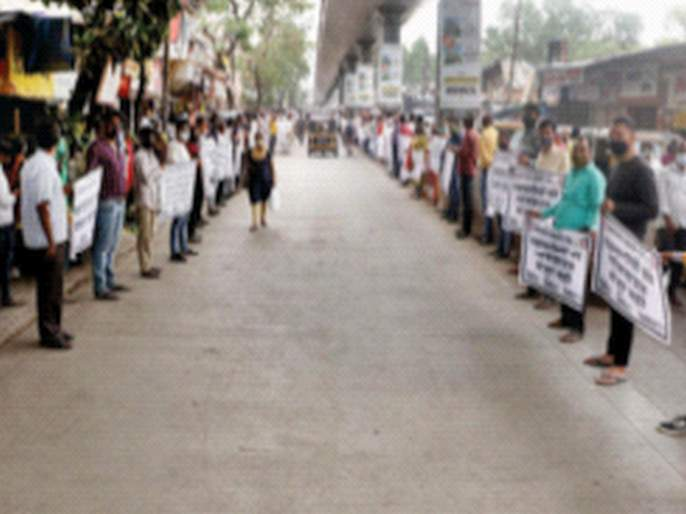 CoronaVirus Lockdown News: ... So shops in Badlapur will be open from Monday | CoronaVirus Lockdown News: ...तर बदलापुरातील दुकाने सोमवारपासून होणार सुरू; व्यापाऱ्यांचा इशारा