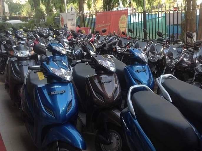 ... so a Traffic Police fine of 1 lakhs was imposed on new scooters | ...म्हणून 65 हजारांच्या नव्याकोऱ्या स्कूटरवर ठोठावला लाखभराचा दंड