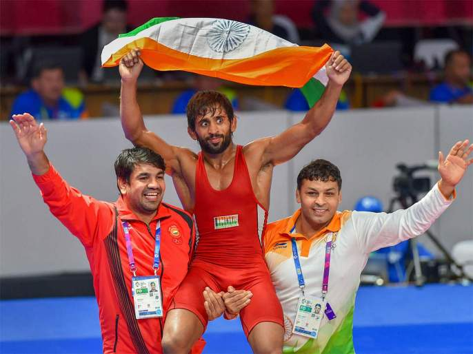 Asiad gold medallist Bajrang Punia recommended for prestigious Rajiv Gandhi Khel Ratna Award | आशियाई सुवर्णपदक विजेत्या बजरंग पुनियाला मिळणार राजीव गांधी खेल रत्न पुरस्कार
