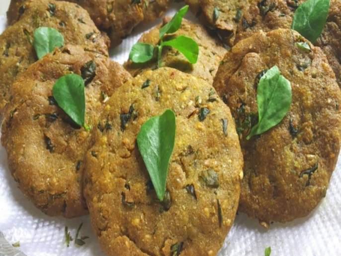 recipe of Bajra Vade | खरपूस बाजरी वडे मस्त ; मिनिटांत बनतील आणि क्षणात होतील फस्त