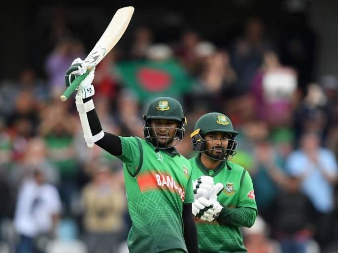 ICC World Cup 2019: Shakib-Liton's thunderstorm, Bangladesh gave shock to West Indies | ICC World Cup 2019 : शकीब-लिटनचा झंझावात, बांगलादेशने दिला वेस्ट इंडिजला शॉक