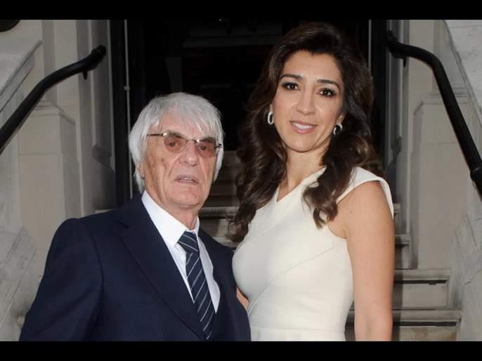 Ex-F1 chief Bernie Ecclestone to become father for fourth time at age of 89 svg | बाप रे बाप... फॉर्म्युला वनचा माजी बॉस 89 वर्षी बनला बाप; पत्नी आहे वयानं लहान