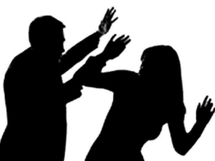 Police employee brutally beaten his wife im Murtijapur | पोलीस कर्मचाऱ्याची पत्नीस बेदम मारहाण
