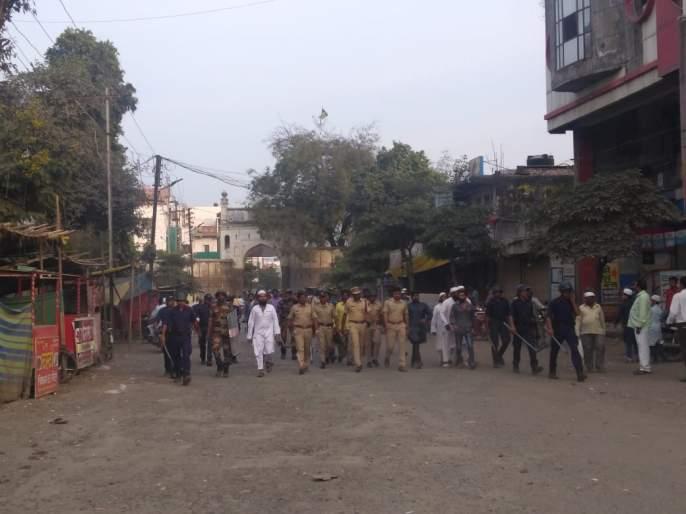 CAA: Parbhani, Beed,Hingoli of Marathwada; The mob stoned the vehicles | CAA : मराठवाड्यात परभणी, बीड, हिंगोलीत मोर्चाला गालबोट; जमावाकडून वाहनांवर दगडफेक