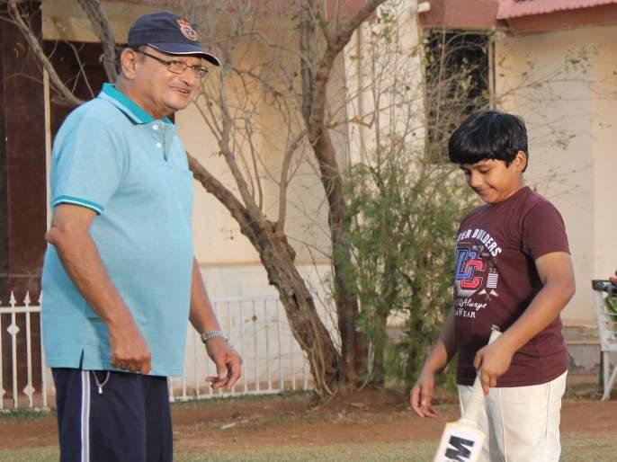 Ajit Wadekar's special role in the film 'Bala' | 'बाळा' चित्रपटात अजित वाडेकरांची विशेष भूमिका