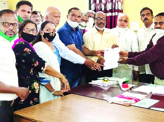 Postpone action till Ganesh Chaturthi, Tehsildar's letter to the municipality | गणेश चतुर्थीपर्यंत कारवाई स्थगित करा, तहसीलदारांचे नगरपालिकेला पत्र
