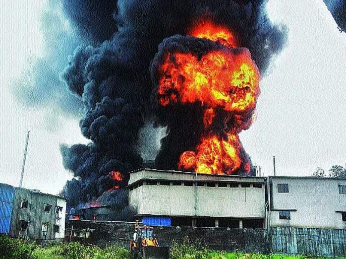 Order to stop production of 'Metropolitan EximCam', bhiwandi fire | डोंबिवली आग : 'मेट्रोपॉलिटन एक्झिमकेम'ला उत्पादन बंद करण्याचे आदेश