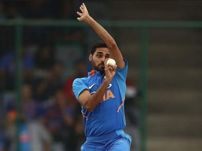 ICC World Cup 2019 : Bhuvneshwar Kumar back in the nets ahead of West Indies Match | ICC World Cup 2019 : भुवनेश्वर कुमार पूर्णपणे तंदुरुस्त? नेट्समध्ये केली गोलंदाजी!