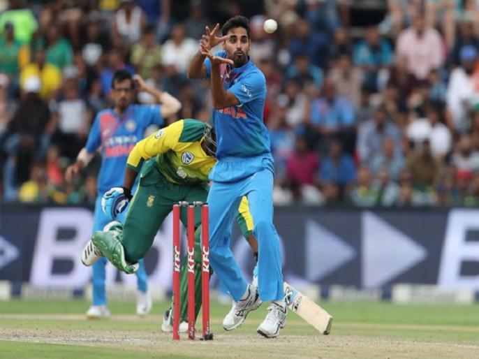 'this' two batsmans can be a headache for India in World Cup, says Bhuvneshwar Kumar | वर्ल्ड कपमध्ये भारतासाठी 'हे' दोन फलंदाज ठरू शकतात डोकेदुखी, सांगतोय भुवनेश्वर कुमार