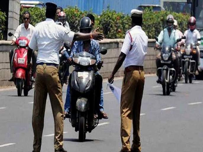 If Ride Bike Sandal Or Sleeper Then Traffic Police Will Be Action On You   वाहतूकीचा 'हा' नियम सक्तीने लागू केल्यास चप्पल किंवा सँडल घालून बाईक चालवल्यास होणार कारवाई