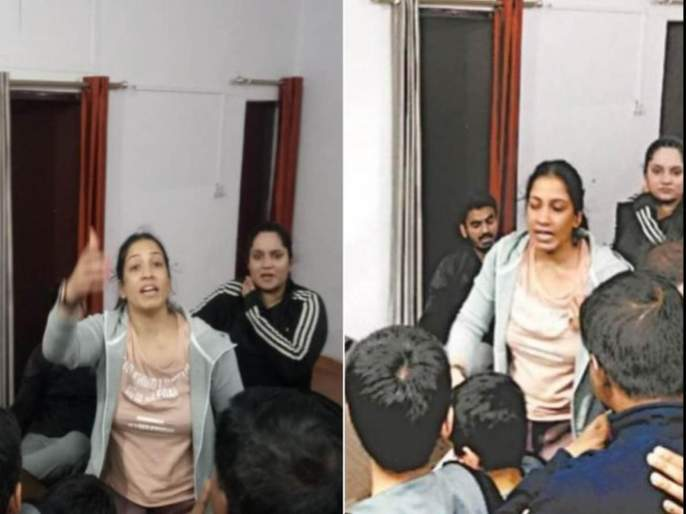 BJP leader has affair with lady SP worker; The wife looked in the flat and ...pda | भाजपा नेत्याचे सपाच्या महिला पदाधिकाऱ्याशी सूत जुळले; पत्नीने फ्लॅटमध्ये पाहिले अन्...