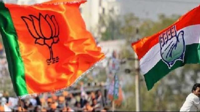 Congress attempts to prove Hindus as terrorists; Criticism of BJP   हिंदूंना दहशतवादी सिद्ध करण्याचा काँग्रेसचा प्रयत्न;भाजपची टीका