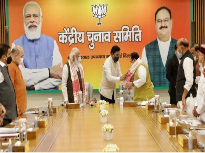 Assam assembly election 2021: BJP To Contest 92 Seats In Assam, 26 For Asom Gana Parishad, 8 For Others | Assam assembly election 2021: ठरलं! आसाममध्ये भाजपा९२ जागांवर निवडणूक लढणार