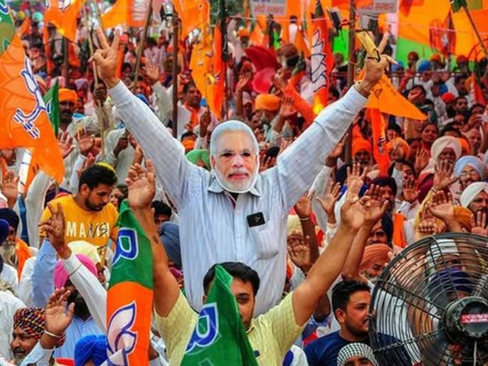 BJP received Rs 915 crore as donations between 2016 and 2018 | भाजपावर कॉर्पोरेट्स मेहेरबान; सत्ताधारी पक्षाच्या पदरात तब्बल ९१५ कोटींचं दान