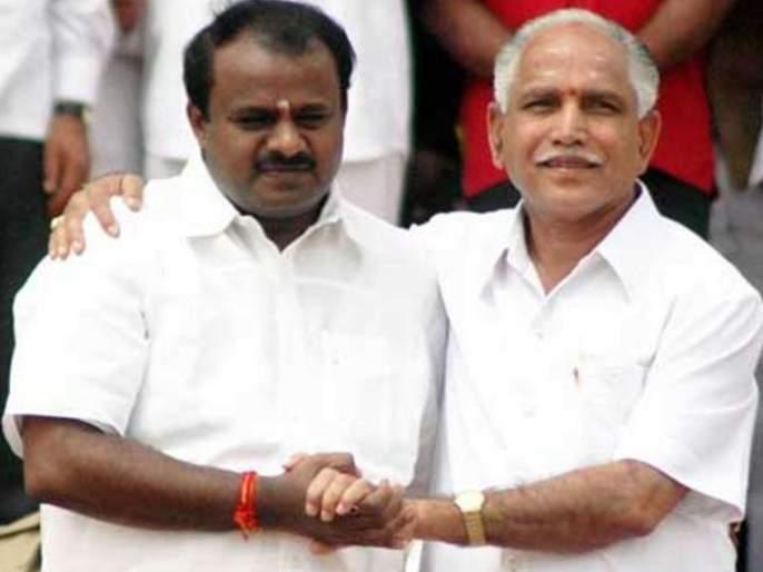 BJP and JDS likely to alliance in Karnataka by-elections | कर्नाटक पोटनिवडणुकीत भाजपा आणि जेडीएस एकत्र येण्याची शक्यता