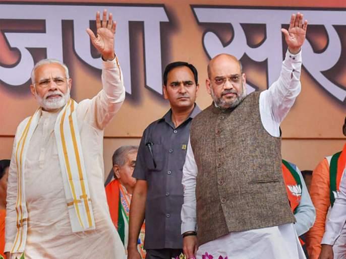 Lok Sabha Election 2019: BJP will win 300 seats on its own; says amit shah | 'फिर एक बार, स्वबळाचं सरकार'; अमित शहांनी सांगितला भाजपाचा 'आकडा'