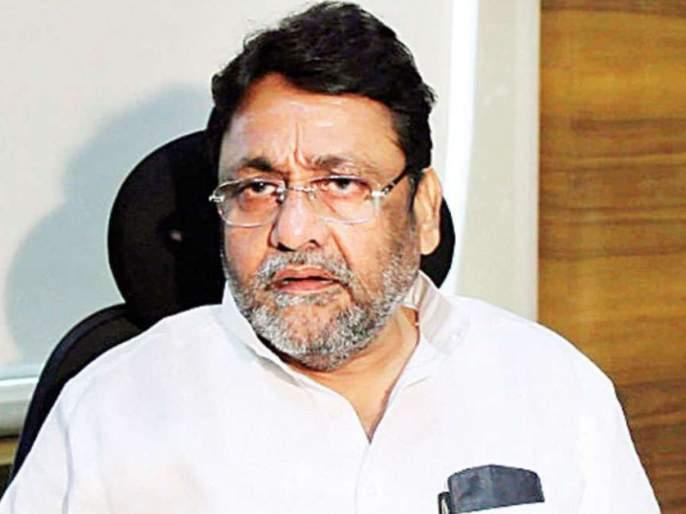 """ncp leader nawab malik criticizes bjp over farmers agitation in delhi   """"शेतकरी आंदोलनाला बदनाम करण्याचा भाजपचा सुनियोजित कट""""; नवाब मलिकांची टीका"""