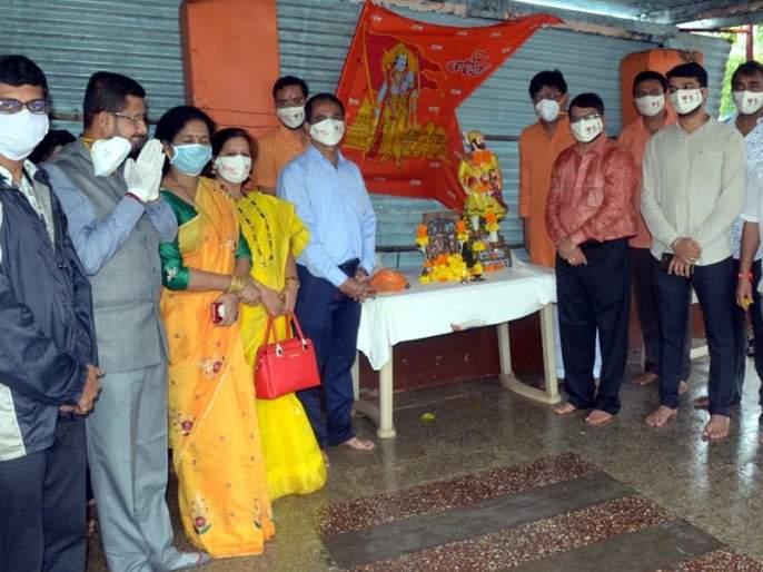 BJP's Anandotsav in Ratnagiri on the occasion of Ram Mandir Bhumi Pujan | राम मंदिर भूमिपूजनानिमित्त रत्नागिरीत भाजपचा आनंदोत्सव