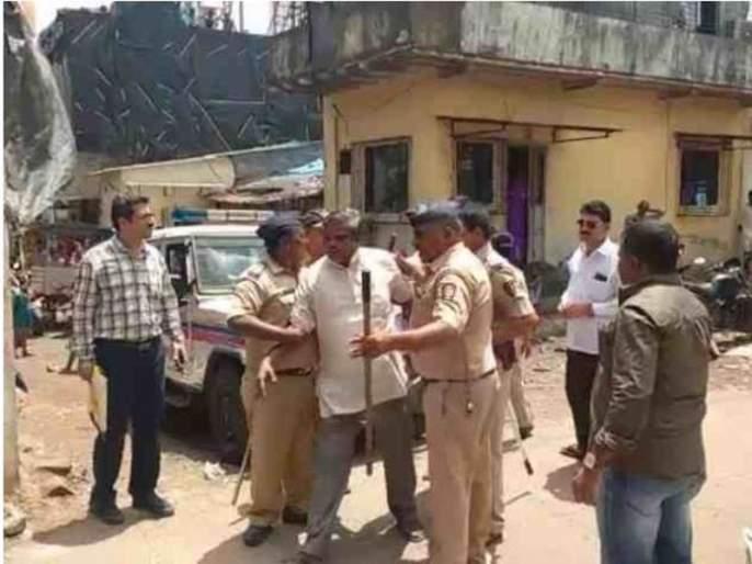 BJP secretary beaten to police, arrested secretary is in police custody till September 10 | भाजपचे सचिवाने केली पोलिसांना मारहाण, १० सप्टेंबरपर्यंत पोलीस कोठडी