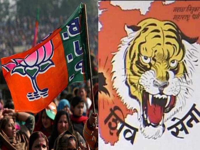 maharashtra election 2019 bjp shiv sena not supporting each other in mira bhayandar and ovala majiwada   Maharashtra Election 2019: युतीतील अजब घोळ; नगरसेवक, पदाधिकाऱ्यांकडून प्रचाराचा बट्ट्याबोळ