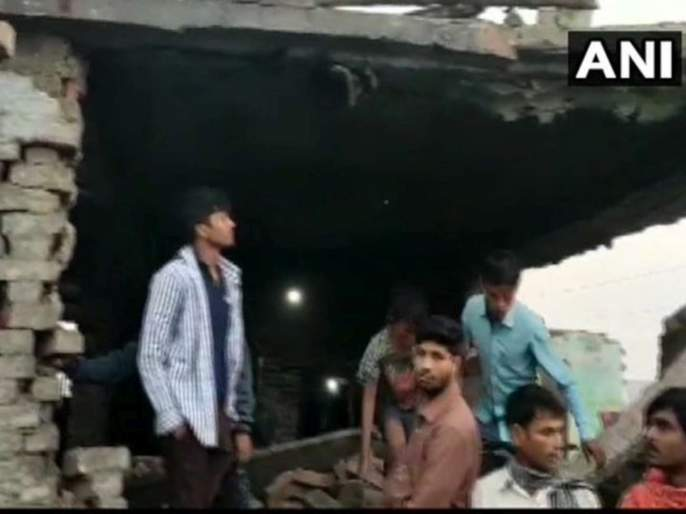 Four people have died after a boiler exploded in an NGO's kitchen in Sugauli | मध्यान्ह भोजन बनवताना स्वयंपाकघरात बॉयलरचा स्फोट, चार जणांचा मृत्यू