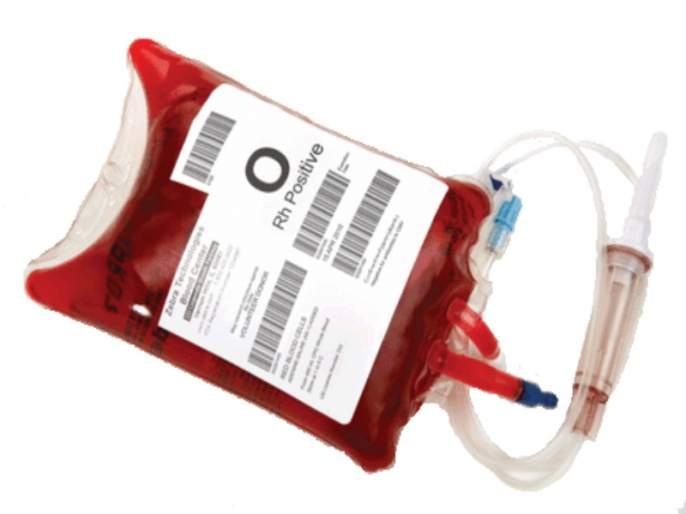 Shocking Blood Bank gave expired blood bag to patient   धक्कादायक ! ब्लड बॅंकेने दिली एक्स्पायरी डेट संपलेली रक्ताची पिशवी