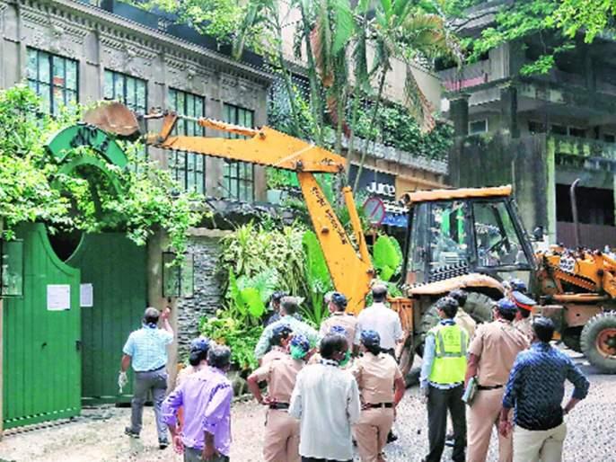Kangana Ranaut Kalebere in illegal construction case- high court   कंगना रनौत बेकायदा बांधकामप्रकरणी कारवाईत काळेबेरे, BMC ने नियम मोडले