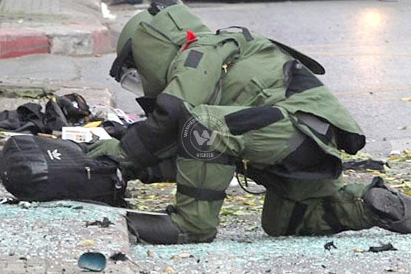 Anonymous phone for having a bomb near Guardian Minister's Office | पालकमंत्री महाजन यांच्या कार्यालयाजवळ बॉम्ब असल्याच्या निनावी फोन