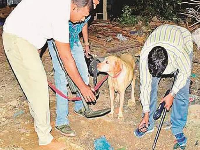 More than 300 calls to Aurangabad bomb detention center over the year | औरंगाबादेतील बॉम्बशोधक पथकाला वर्षभरात ३०० हून अधिक कॉल