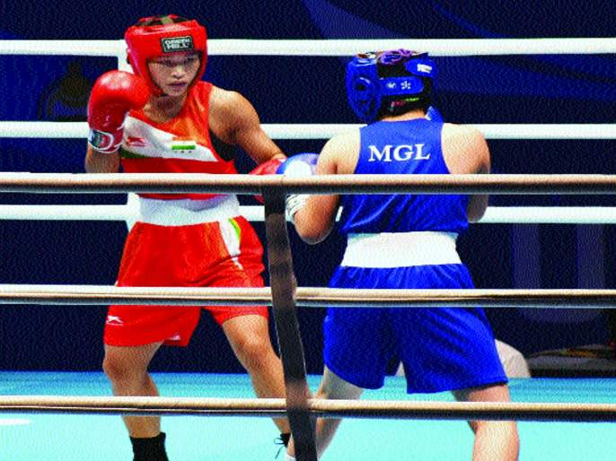 World women's boxing : Jamuna Boro's winning start | जागतिक महिला बॉक्सिंग अजिंक्यपद : जमुना बोरोची विजयी सुरुवात