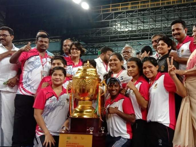 Jyoti, Monika, Pavilava, Pavitra got the gold for Indian railway in boxing championship   ज्योती, मोनिका, पविलाव, पवित्रा यांनी मिळवून दिले रेल्वेला सुवर्ण