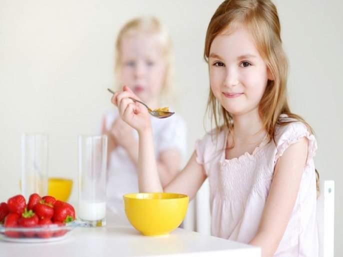 Important rules of breakfast for kids | लहान मुलांसाठी फार गरजेचे आहेत नाश्त्यासंबंधीचे 'हे' नियम!
