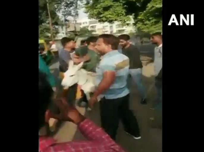 2 BSP Leaders Garlanded With Shoes, 1 Paraded On Donkey By Party Workers In Rajasthan | Video - बसपा पदाधिकाऱ्यांची कार्यकर्त्यांनीच गाढवावरून काढली धिंड