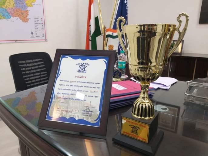 Buldana police party tops the list in funding | निधी खर्चामध्ये बुलडाणा पोलिस दल राज्यात अव्वल