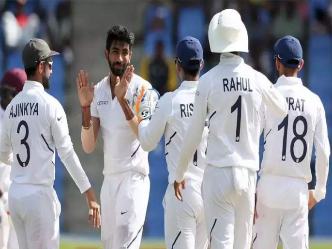 India vs West Indies, 1st Test: India announces innings; west indies need a 419 runs to win this match | India vs West Indies, 1st Test: वेस्ट इंडिज दारूण पराभव; भारताने 100 वर केले ऑलआऊट