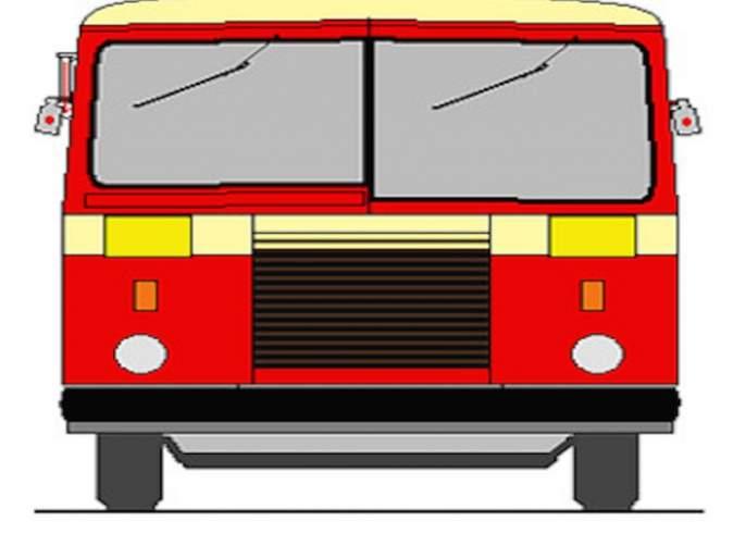 Four passengers injured due to reckless bus driving; Offense against the driver | बेदरकारपणे बस चालविल्याने चार प्रवासी जखमी ; चालकाविरोधात गुन्हा