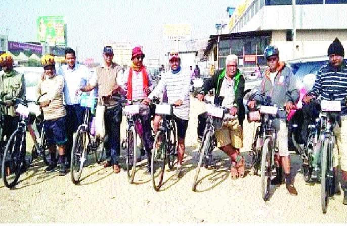 Bicycle ride .. Maye to Jagannathpuri | सायकल सवारी.. मायणी ते जगन्नाथपुरी