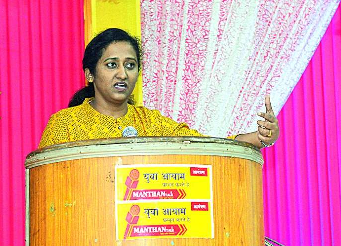 Only rumor that will be out of the country: Smita Gaikwad | देशाबाहेर काढणार, ही केवळ अफवा: स्मिता गायकवाड
