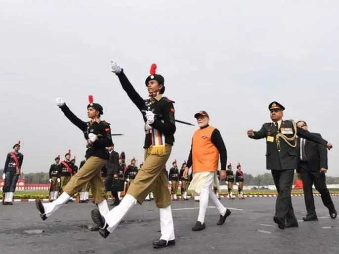 pm narendra modi visits national cadet corps rally in delhi updates will also address cadets | पाकचा पराभव करण्यासाठी 10 दिवससुद्धा लागणार नाहीत- मोदी